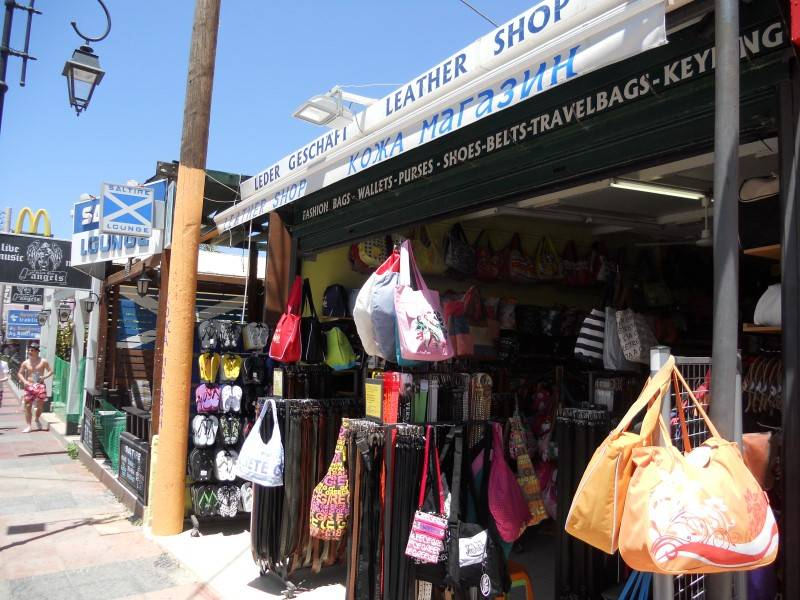 Leather Shop Malia Heraklion Crete