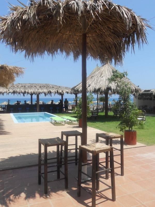 Vai Beach Bar Adelianos Kampos Rethymno Crete
